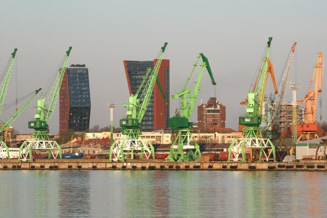 порты россии на карте