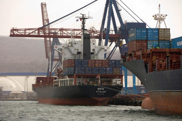 крупнейшие порты россии