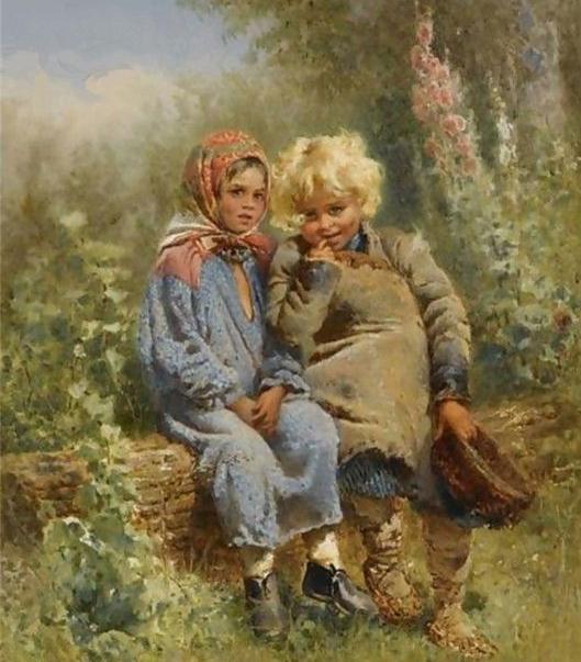 стихотворение некрасова крестьянские дети