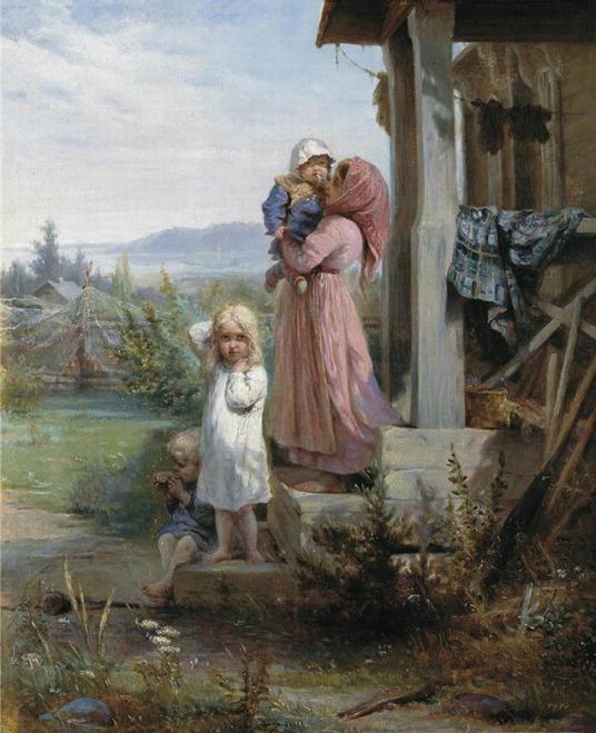 некрасов крестьянские дети
