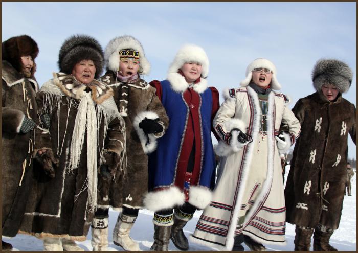 народы севера и сибири