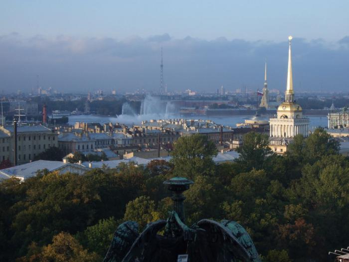 сады санкт петербурга