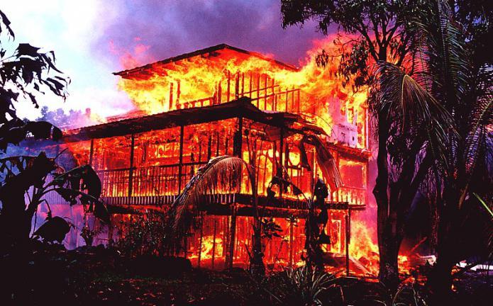 сон горит дом знакомого
