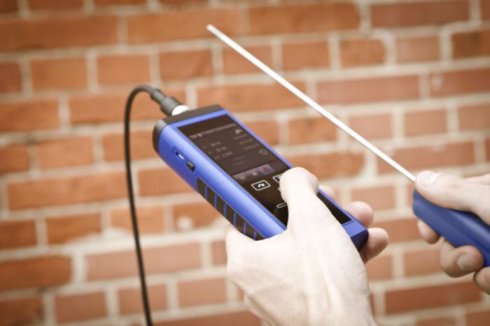 Прибор для измерения температуры воздуха