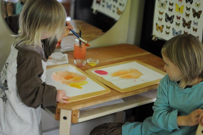 Оформить уголок в детском саду