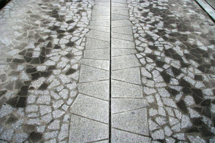 плитка фигурная тротуарная