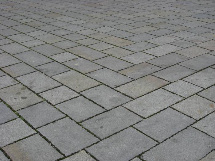 размер тротуарной плитки