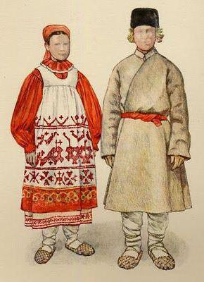 русский национальный сарафан