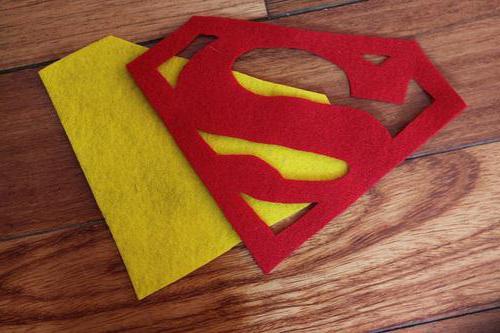 как сшить костюм супермена