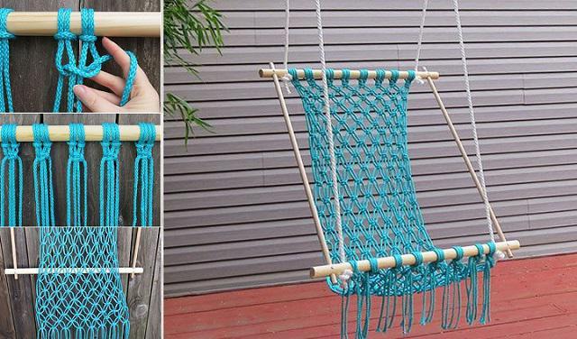 плетение из веревки своими руками