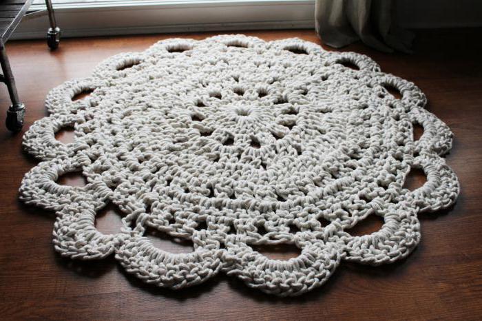 плетение из бельевой веревки