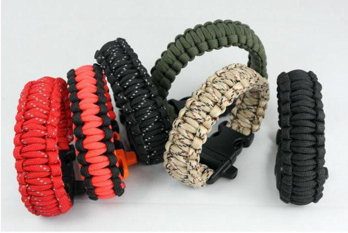 веревочные браслеты
