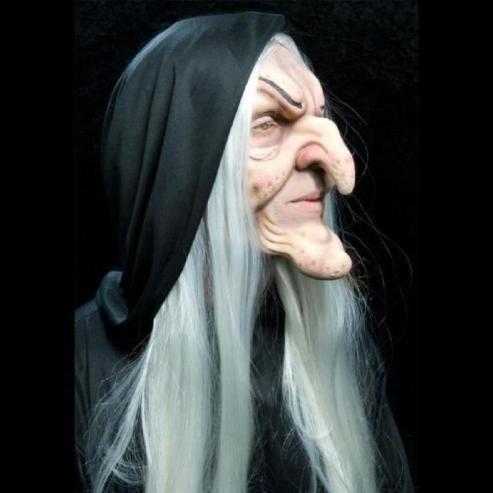 макияж бабы яги
