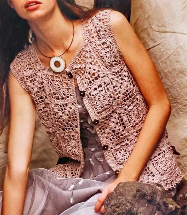 Вязание крючком фото модное 81