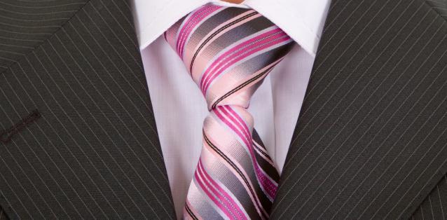 как завязывать галстук простой способ