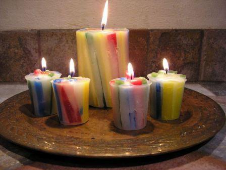 изготовление свечей в домашних условиях