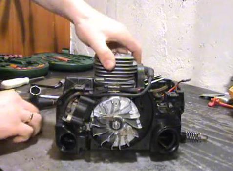 Бензопила партнер 350 s ремонт своими руками 29