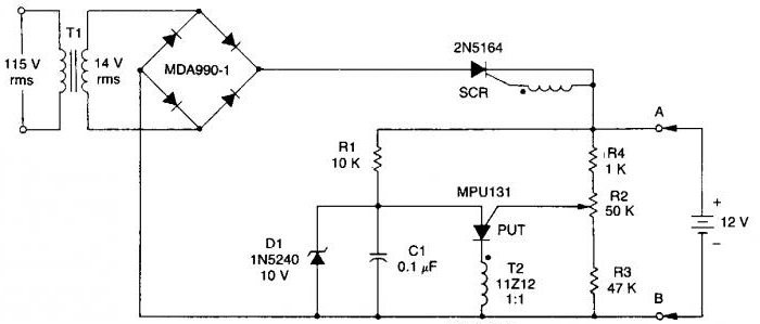 схема зарядного устройства шуруповерта макита