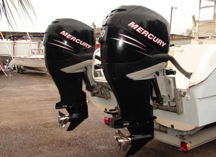 мотор лодочный меркурий 40