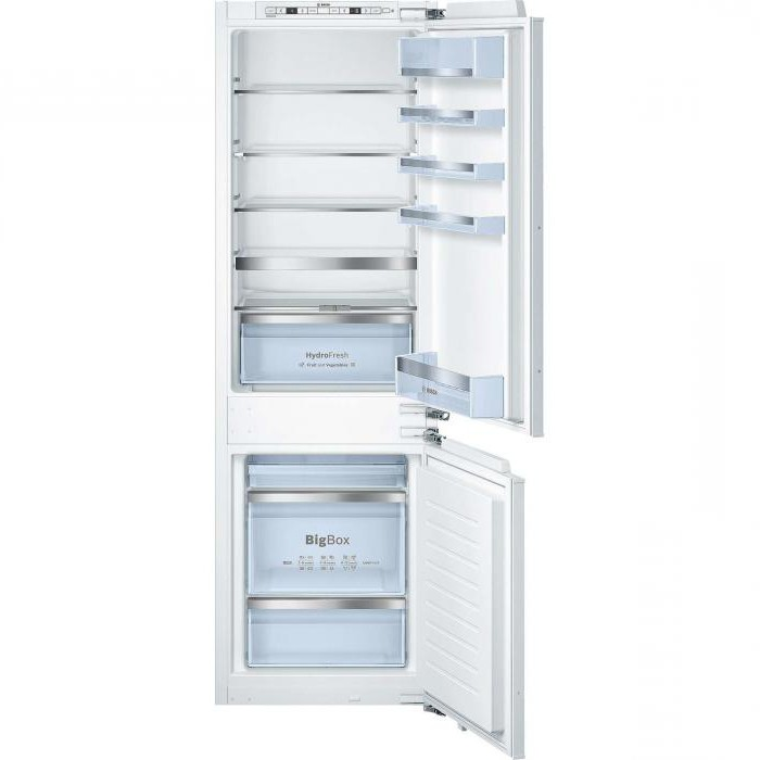 Встроенный холодильник bosch инструкция