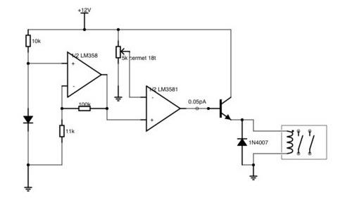 схема терморегулятора для инкубатора наседка