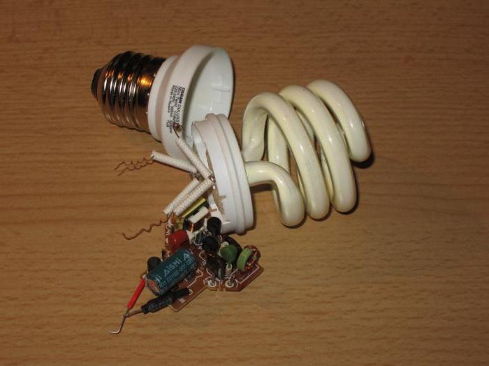 ремонт энергосберегающих ламп navigator
