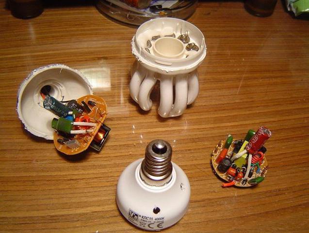 ремонт энергосберегающих ламп maxus