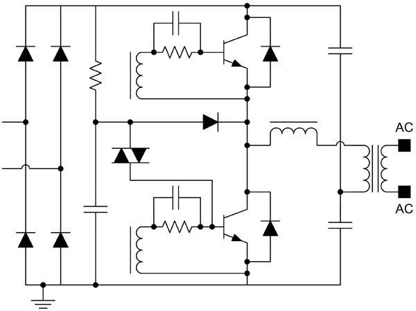 Электронный трансформатор схема подключения 88