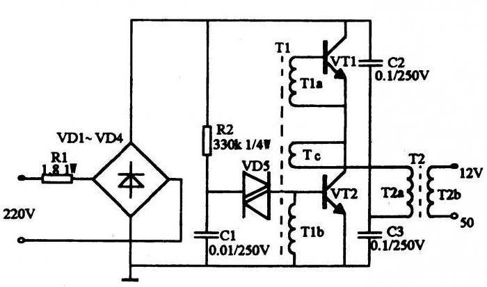 электронный трансформатор 12в