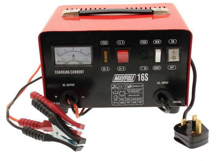 простая зарядка для автомобильного аккумулятора