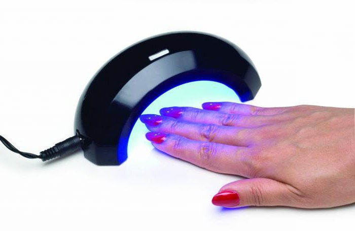 led лампы для маникюра 40w