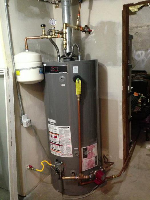 Устройство расширительного бака системы отопления