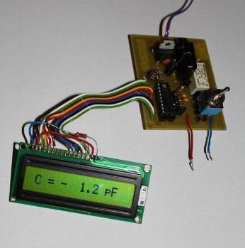 измеритель емкости конденсаторов своими руками avr