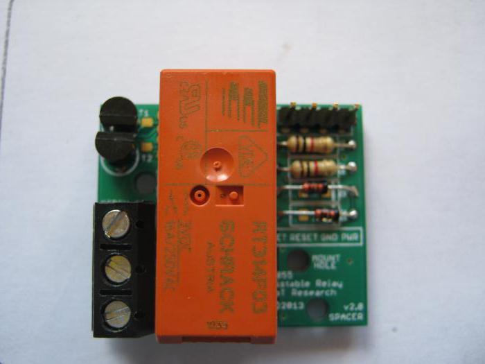 управление бистабильным реле микроконтроллером