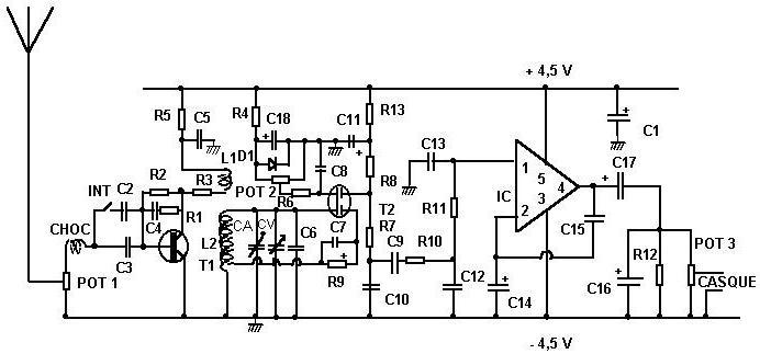 детекторный кв приемник на любительские диапазоны