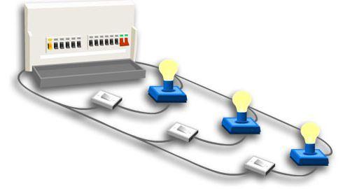 схема подключения из 2 мест проходные выключатели