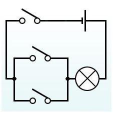 проходные выключатели схема подключения на две лампы