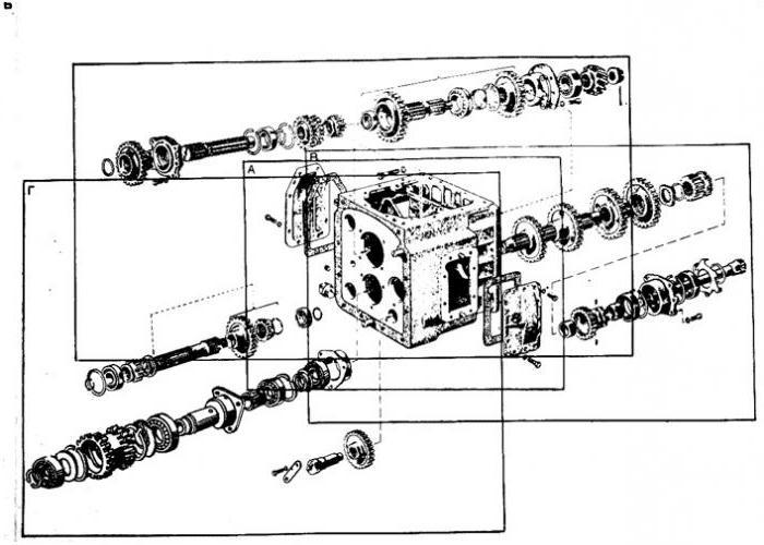 коробка передач мтз 82 фото