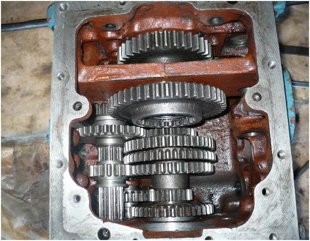 коробка передач мтз 82 схема переключения