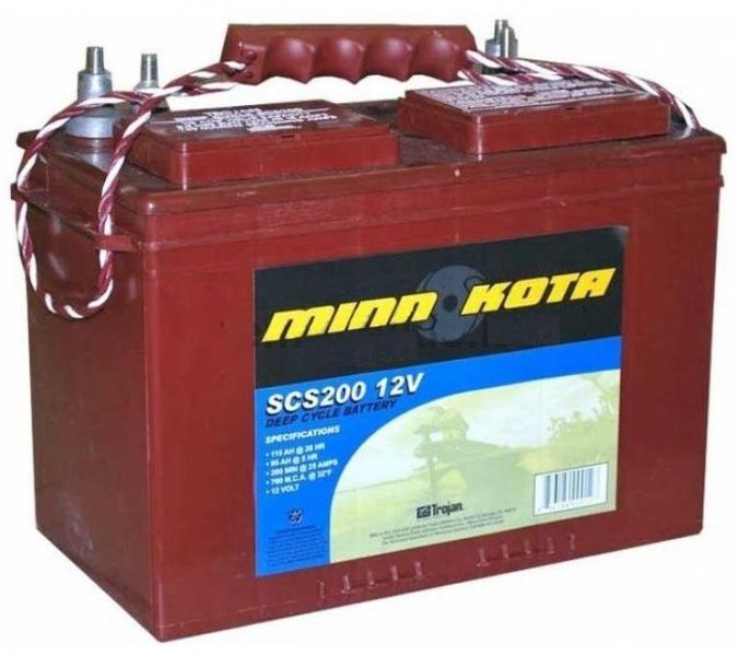 аккумулятор для лодочного электромотора цена