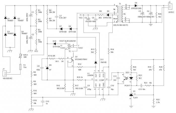 Схема инверторного сварочного аппарата форсаж