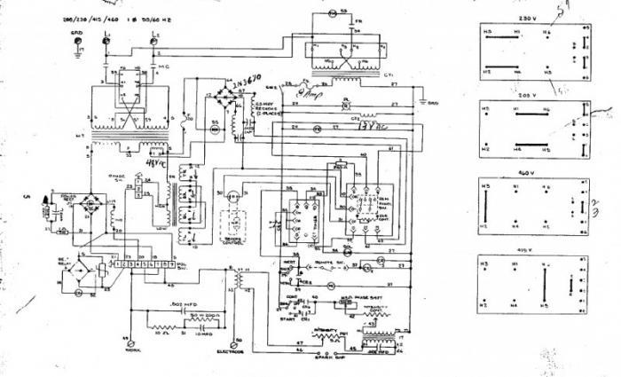 сварочные аппараты схема