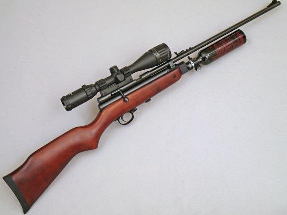 обзор пневматических винтовок