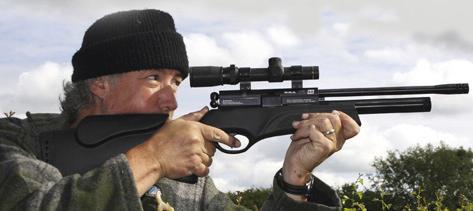 пневматические винтовки PCP