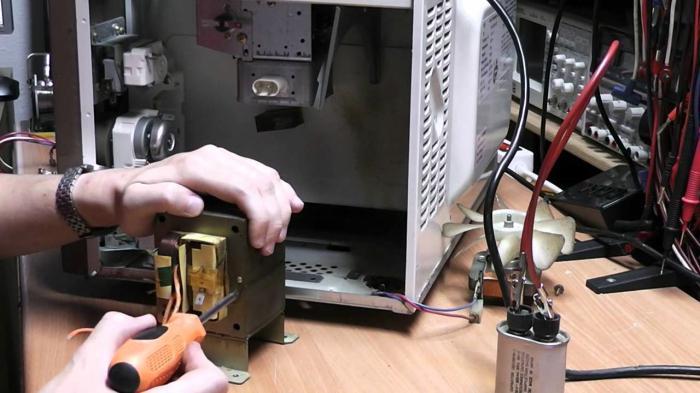 Микроволновка lg ремонт своими руками