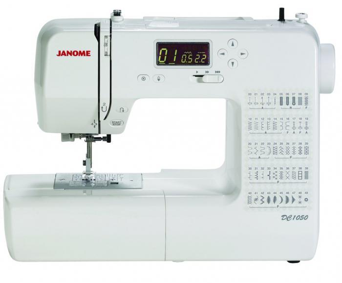 настройка швейной машинки