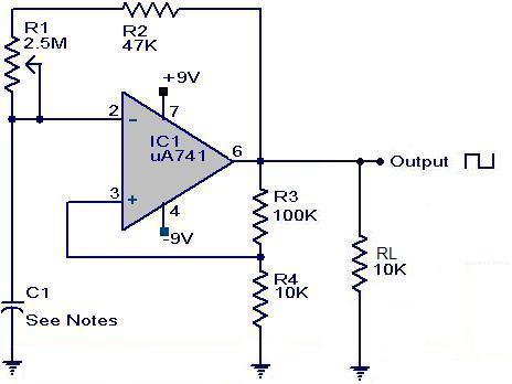 генератор сигналов схема