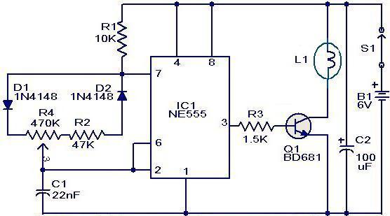 регулятор постоянного тока