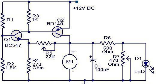 схема регулятора тока