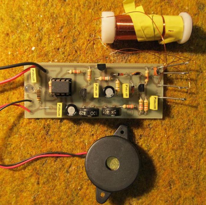 пинпоинтер своими руками на транзисторах